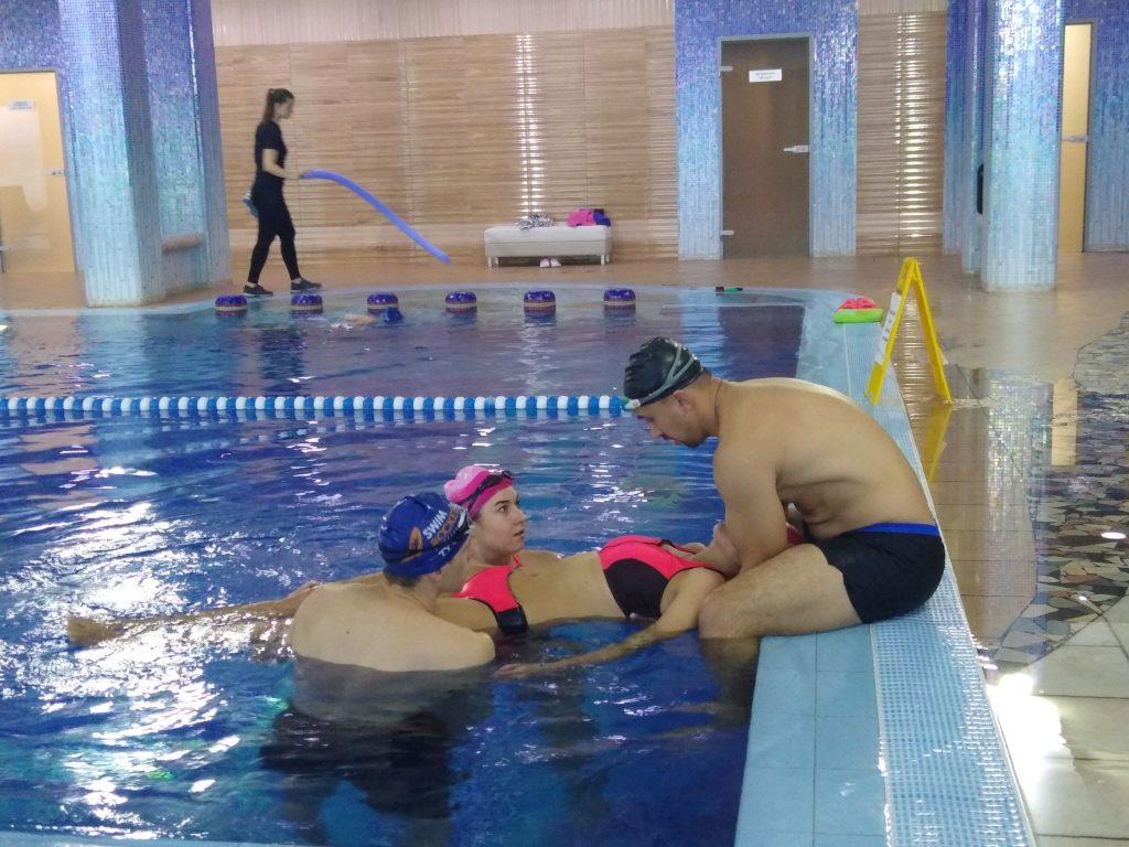 Подготовка спасателей на воде